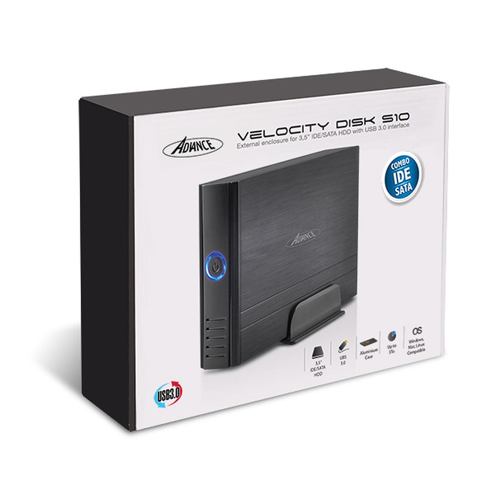 Boitier externe ADVANCE BX-310U3SI pour disque dur 3.5 pouces IDE/SATA vers USB 3.0, informatique ile de la Réunion 974