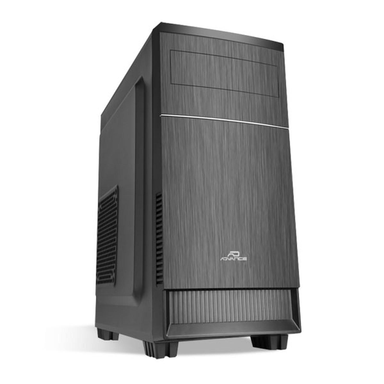 Boitier PC Micro-ATX, ADVANCE Impulse Noir sans alim, informatique ile de la Réunion 974