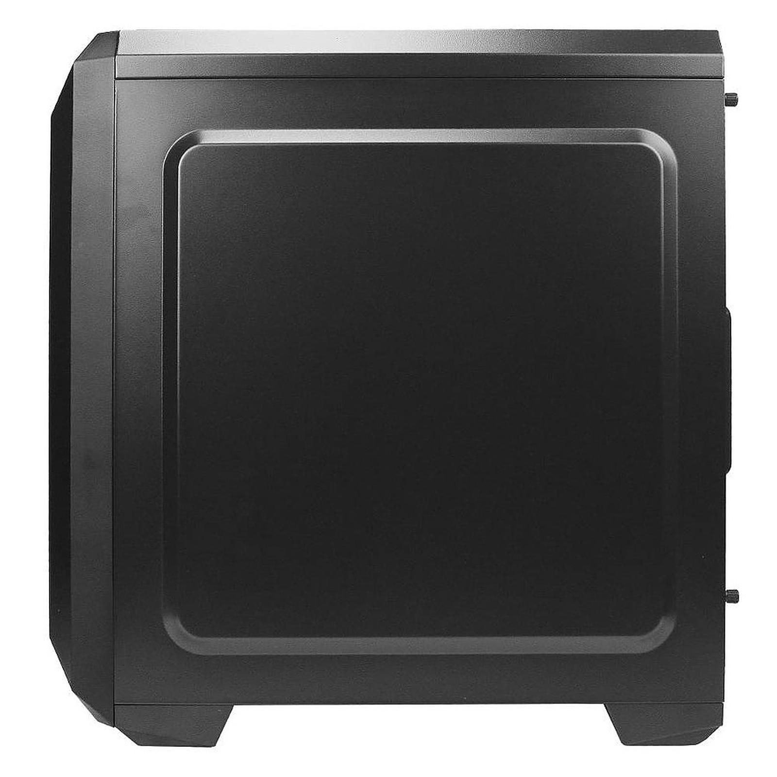 Boitier PC ATX, Micro-ATX, Mini-ITX Antec NX100 Noir-Gris moyen tour avec fenêtre sans alim, informatique ile de la Réunion 974