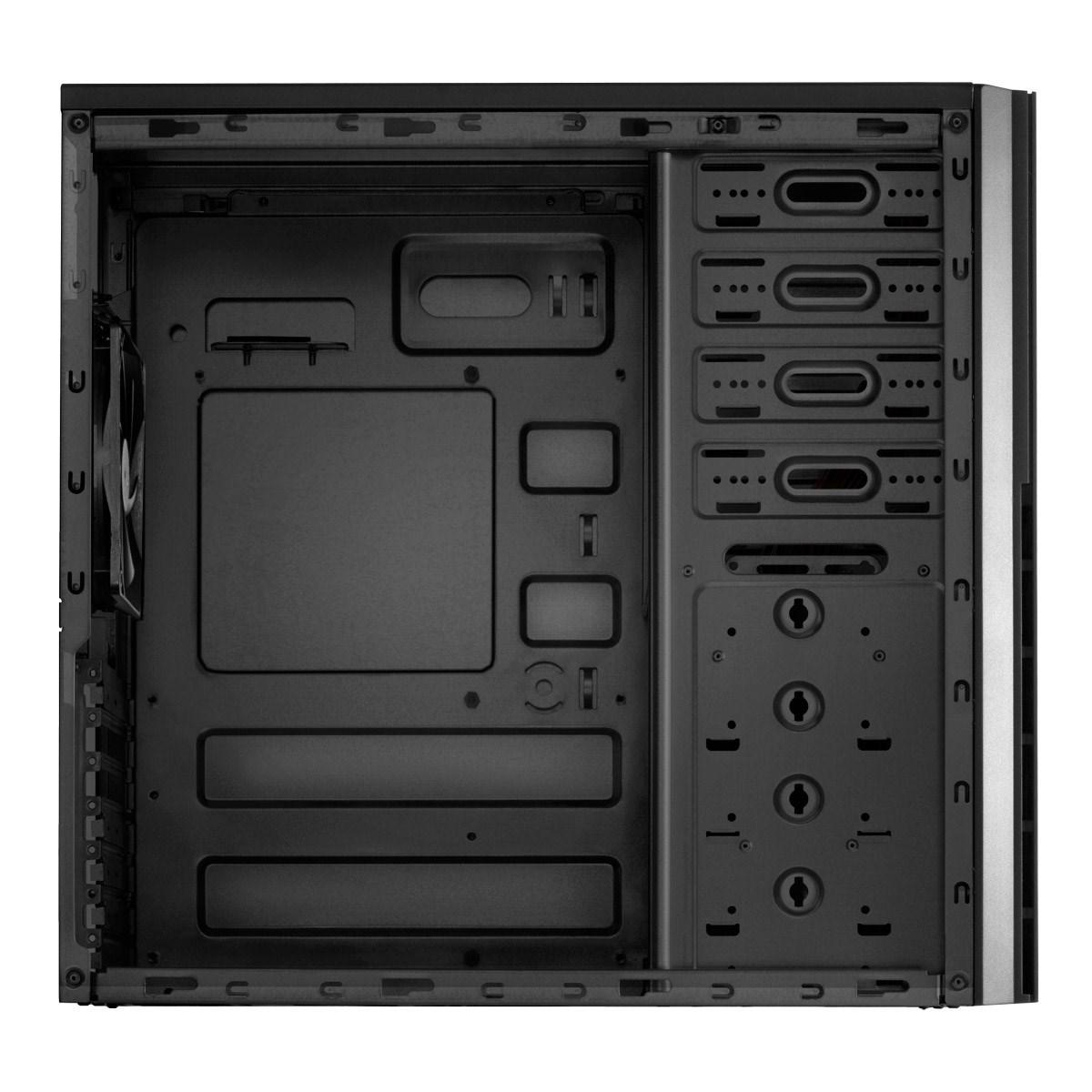 Boitier PC ATX, Micro-ATX, Mini-ITX Antec VSK-4000B-U3/U2 mini tour noir sans alim, informatique ile de la Réunion 974