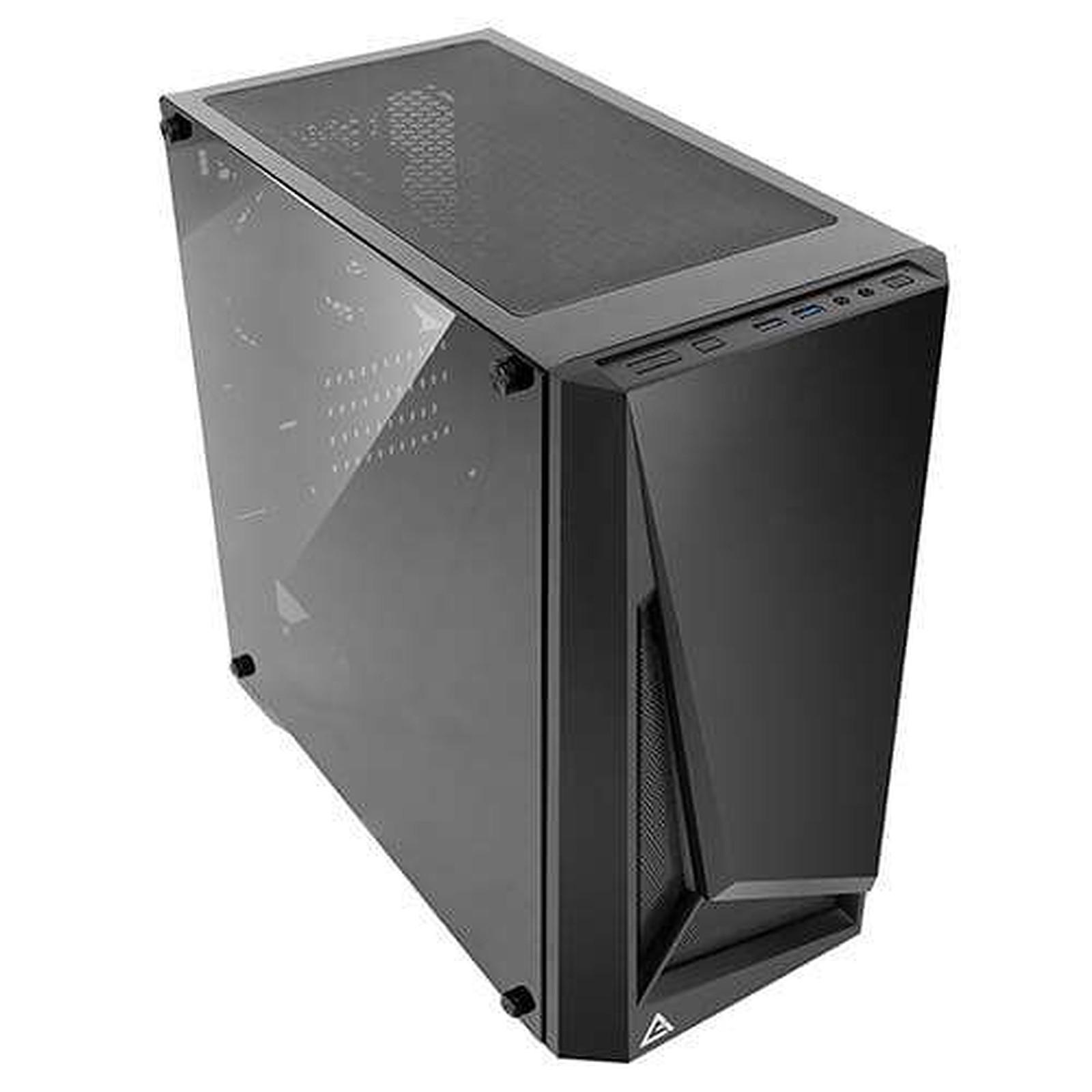 Boitier PC Micro-ATX, Mini-ITX, Antec DP301M noir avec fenêtre sans alim, informatique ile de la Réunion 974