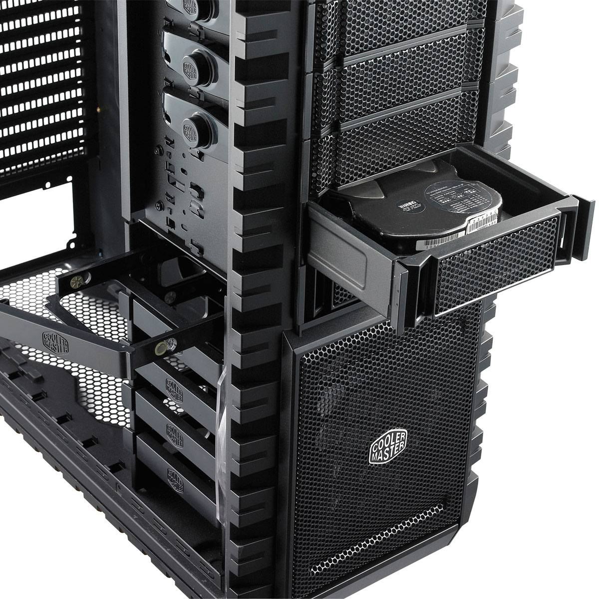 boitier pc grande tour cooler master haf x rc 942 kkn1 sans alim. Black Bedroom Furniture Sets. Home Design Ideas
