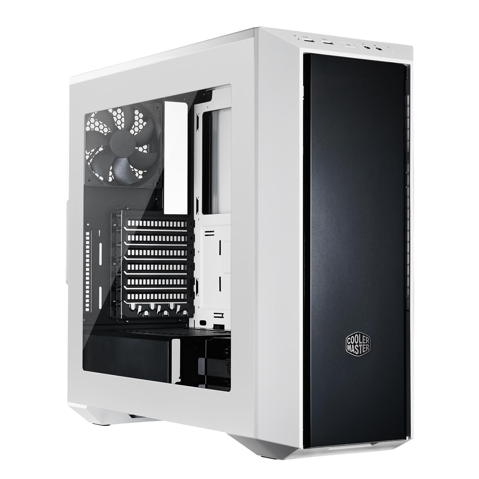 Boitier PC Cooler Master MasterBox 5 blanc sans alim, informatique ile de la Réunion 974