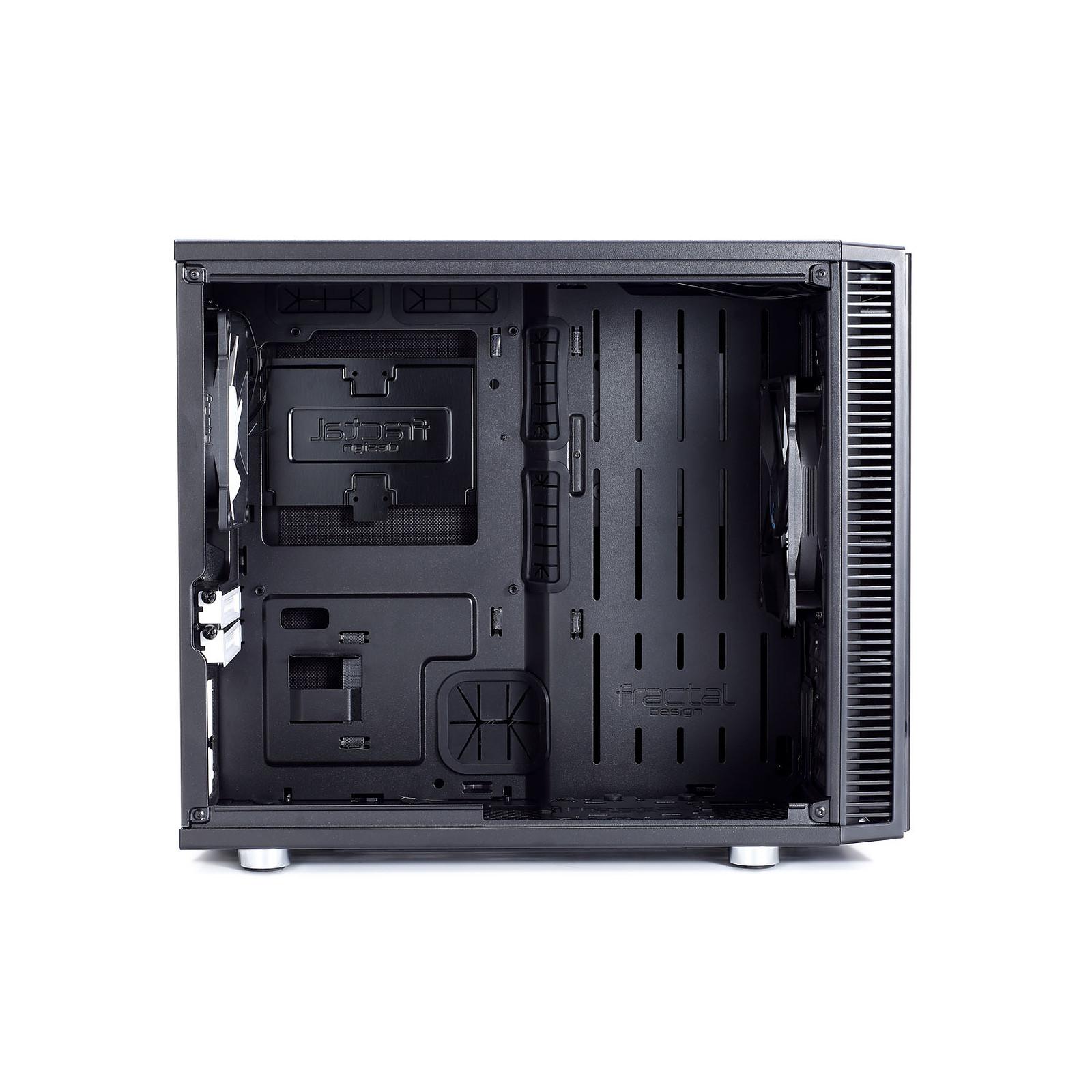 Boitier PC ITX Fractal Design Define Nano S Noir avec fenêtre sans alim, informatique ile de la Réunion 974