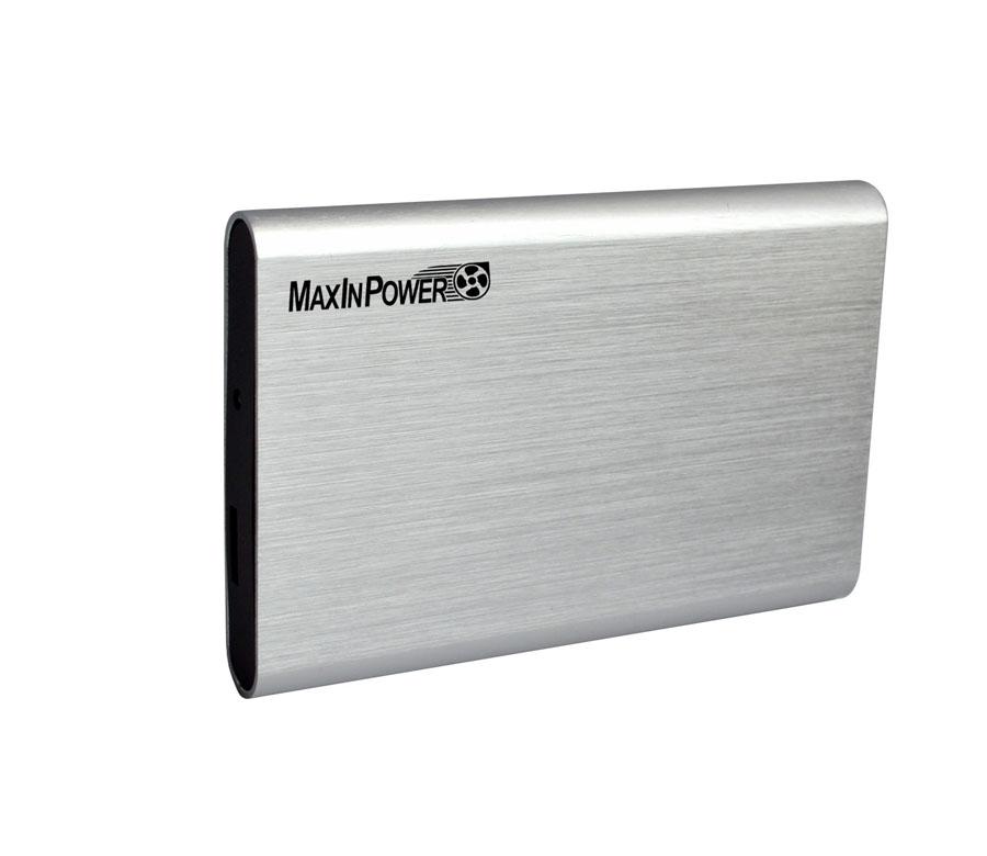boitier externe maxinpower pour disque dur portable ou ssd 2 5 pouces sata vers. Black Bedroom Furniture Sets. Home Design Ideas